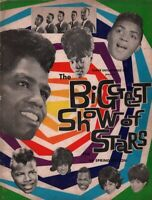 JAMES BROWN / OTIS REDDING 1964 BIGGEST SHOW OF STARS TOUR PROGRAM BOOK / EX