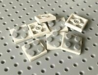 Lego Turntable Plates 2x2 [3680 & 3679] White Base, Bright Grey Top x8