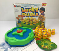VINTAGE MILTON BRADLEY LUCKY DUCKS GAME REPLACEMENT PARTS PIECES COLOR CIRCLE