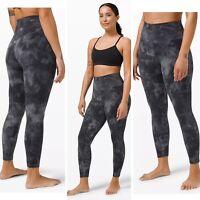 "NWT $88 Women's Lululemon Align Crop 21"" Leggings Size 14 Le Tigre"