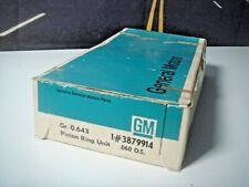 Piston Ring Set Corvette Impala Camaro Pontiac .060 427 428 CID GM 3879914   G4