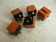 BMW E32 E34 E36 E39 E28 E23 E30 Relais orange 5 Stück Bosch 0332019456