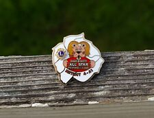 Lions Metal Pin Pinback Annual Charity All Star Football Game District 4-A1