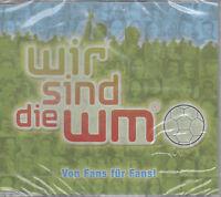 Wir sind die WM Von Fans für Fans Maxi CD NEU Fussball Fan Stadion Hymne
