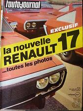 L'AUTO JOURNAL 1971 14 MORGAN R17 RENAULT RODEO CITROEN M35 MAZDA RX2 GP FRANCE
