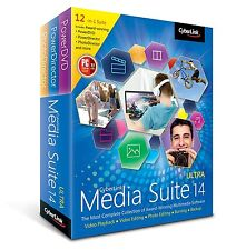New Sealed Cyberlink Media Suite 14 Ultra: PowerDVD PowerDirector PhotoDirector