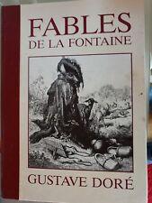 Buch Fables de la Fontaine  Gustave Dore