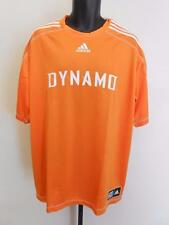 NEW MLS Houston Dynamo Adult Mens Size 2XL 2XLarge Adidas Climalite Jersey