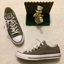 Converse CHUCK TAYLOR ALL STAR SHOES GRAY CANVAS Mens Size 7 Womans Size 9 NICE