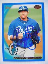 ANGELO SONGCO signed DODGERS #/259 BLUE 2010 Topps Pro Debut baseball card AUTO