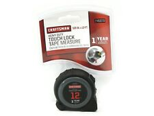 Craftsman Heavy Duty Touch Lock Tape Measure 12 Ft 45070 Brand New