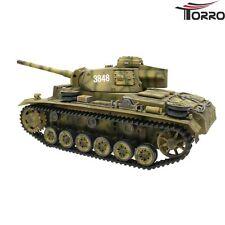 TORRO RC Panzer III Ausf. L Metall Treib-Leiträder Sommertarn BB-Version 2.4GHz