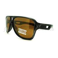 Retro Multicolor Lens Sunglasses Sporty Racer Flat Top Aviators