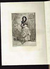 Madame la Contesse de Barck - Greux Etching after Regnault 1873 - Wilson