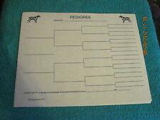Welsh Springer Spaniel Blank Pedigree Sheets Pack 10