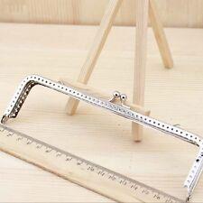 Metal Frame Kiss Clasp Square Silve Size 6.5 CM 8.5 CM 10 CM 12 CM 15 CM 18 CM