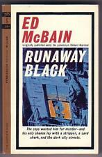 McBain, Ed RUNAWAY BLACK (1964) NM unread Masten pb