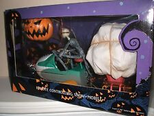 JUN PLANNING NIGHTMARE BEFORE XMAS REMOTE CONTROL SNOWMOBILE HIGH GRADE BOX NEW