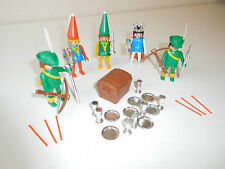 playmobil 3263 complete (no box) medieval set nice with 3447 etc (3)