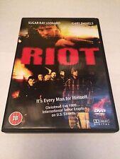 Riot (DVD, 2009) sugar ray leonard, gary daniels, region free uk dvd