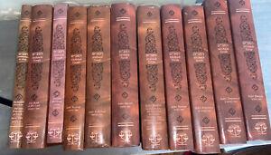 Maimonides Rambam MISHNEH TORAH Touger / Moznaim 10 Set Plus Shenmoneh