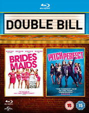 BRIDESMAIDS/PITCH PERFECT****BLU-RAY****REGION B****NEW & SEALED