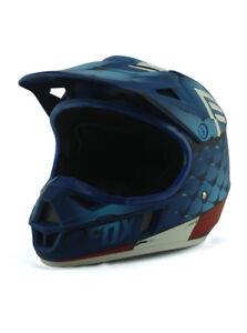 Fox Racing Captain America Motorcycle Helmet Motocross Youth Size M Marvel New