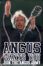 Ac/Dc 24x36 Angus Young Army Music Poster Wants You