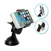 Car Suction Mount Holder for Samsung Galaxy S4 S3 Note 3 2 for iPhone 5S 5C 5 4S