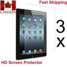 3x Ultra Clear HD Screen Protectors for iPad Mini