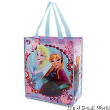 Disney Store Frozen Elsa Anna Reusable Tote Bag Shopping Gift Beach School NWT