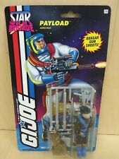 Vintage GI JOE 1994 Star Brigade Payload Black Suit MOSC MOC factory sealed