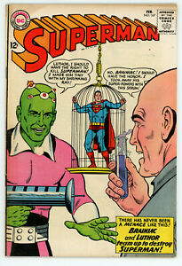 JERRY WEIST ESTATE: SUPERMAN #162 (VG) & 167 (FN) (DC 1963-64) NO RES