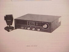 1977 HITACHI CB RADIO SERVICE SHOP MANUAL MODELS CM-4800C & CM-4800H