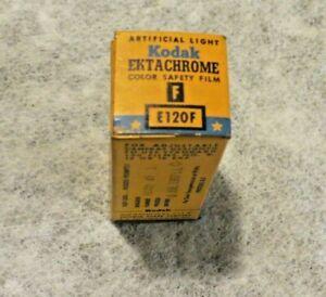One Box of Kodak Ektachrome F E120F Film - Expired July 1957