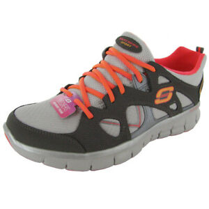 Skechers Womens Synergy Memory Sole 11681 Trainer Shoe