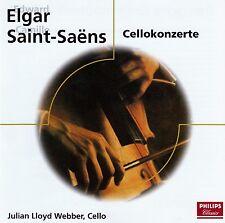 Elgar-Saint-Saens: violoncello concerti, violoncello: Julien Lloyd Webber/CD-come nuovo