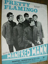 MANFRED MANN - PRETTY FLAMINGO SHEET MUSIC (REF W)