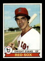 1979 Topps #155 Dwight Evans NM/NM+ Red Sox 517173