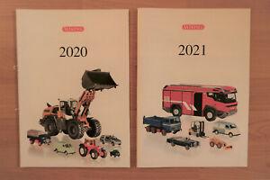 Wiking Prospekt 2020 und Wiking Prospekt 2021, neu