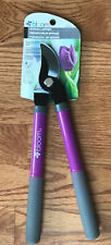 Bloom Bypass Lopper Pruner Garden Tool Purple Fall Yard Clean Up