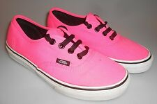 Canvas Vans  Women's Size 6 Pink Sneakers Skateboard Shoes