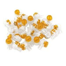 100 x GENUINE 8A 2 WIRE TELEPHONE JELLY CRIMPS CONNECTOR JOINER