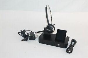 Jabra Pro 9470 Mono Wireless Headset 9470-66-904-105 w/ Charging Base 9400BS