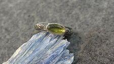 Dungan Sterling Silver Peridot Ring size 6