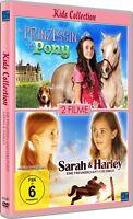 DVD _ Die Prinzessin Und Das Pony & Sarah + Harley - Kids Colección - Nuevo /