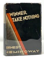 Ernest Hemingway - Winner Take Nothing - HCDJ 1st 1st w/ A & Seal - 1933