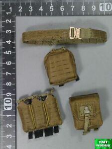 1:6 Scale ES 26038R SAD Low Profile Casual Ver - Belt & Pouches x 3