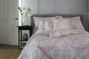 Toile de Jouy Pink Bedding & Accessories Collection