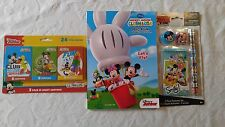 Disney Junior Mickey Mouse Club House Back to School Set coloring Book and Crayo